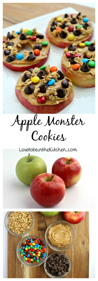 Apple Monster Cookies