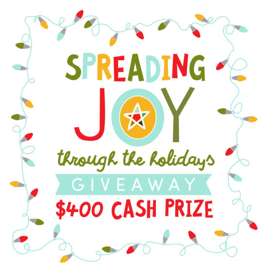 Spreading Joy Giveaway #giveaway
