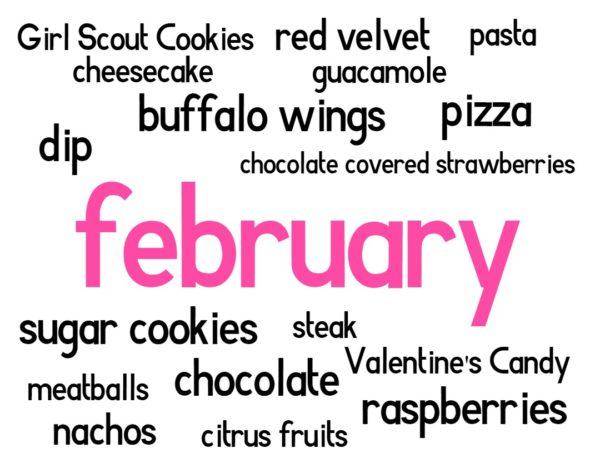 february foods