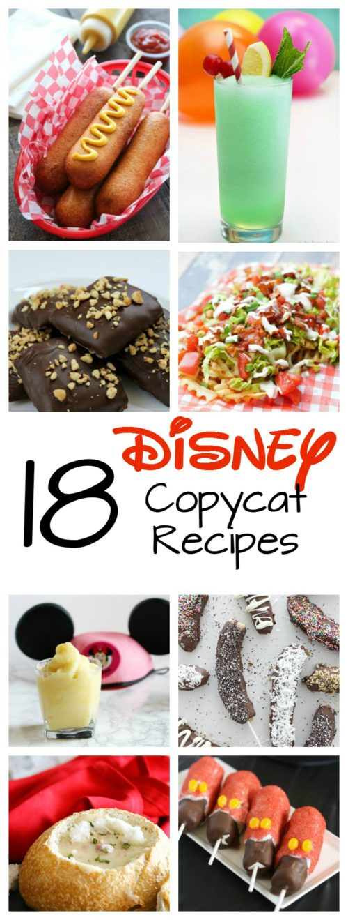 18 Disney Copycat Recipes