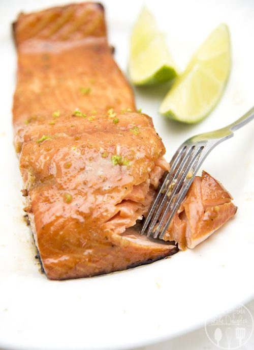 Honey Lime Salmon from Like Mother, Like Daughter