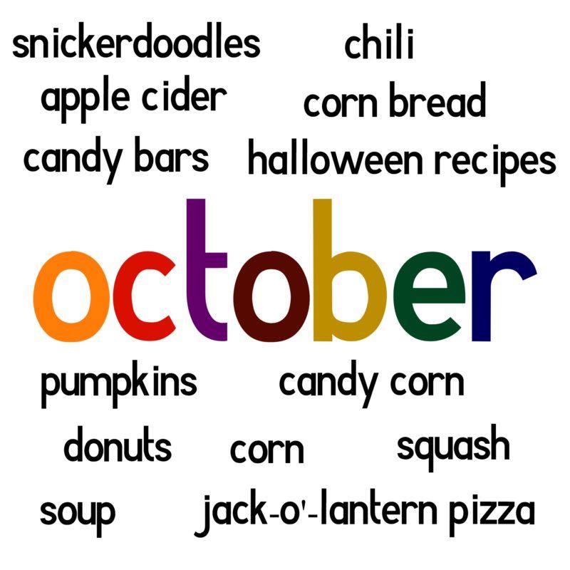 October foods