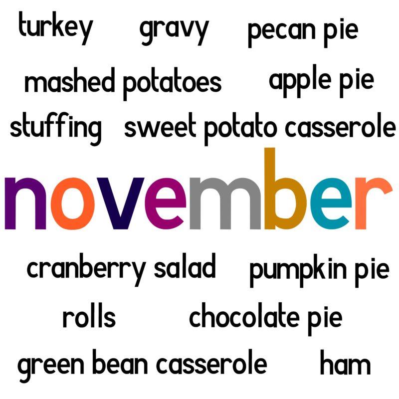 November foods