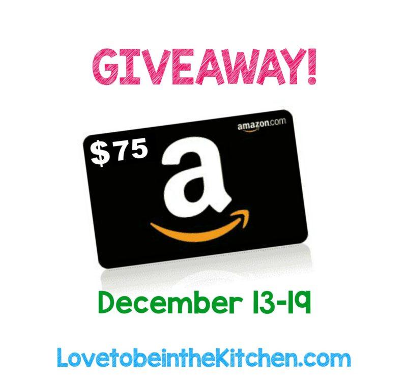 Amazon $75 Gift Card Giveaway