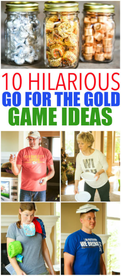 10 Hilarious Go For the Gold Activities