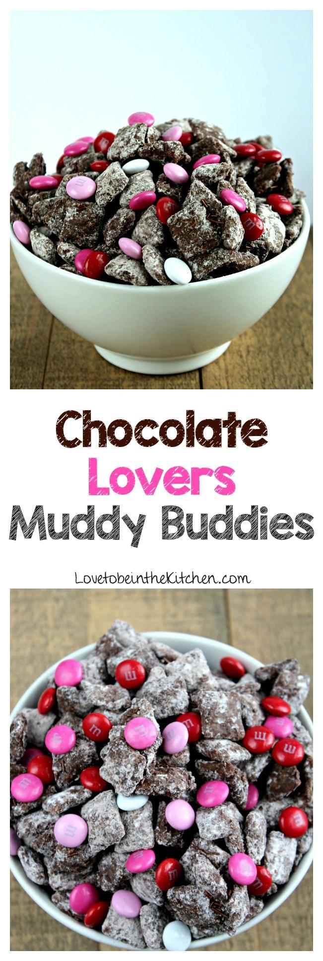 Chocolate Lovers Muddy Buddies