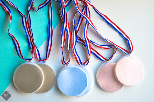 DIY Olympic Medals