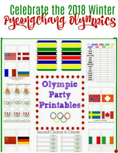 Olympic Party Printables (Free)