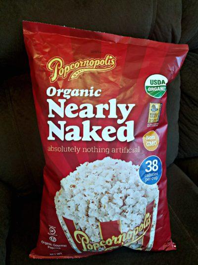 Nearly Naked Popcorn