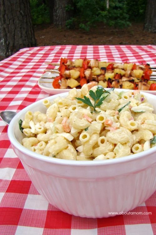 Lemony Macaroni Salad