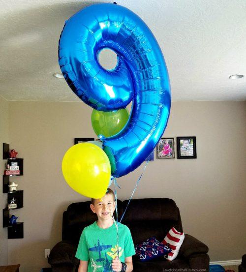Levi turns 9