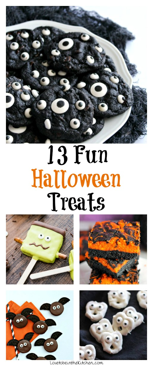 13 Fun Halloween Treats