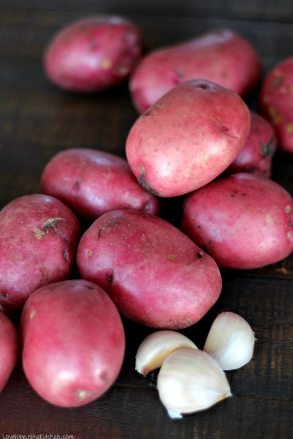 Red Potatoes and Garlic